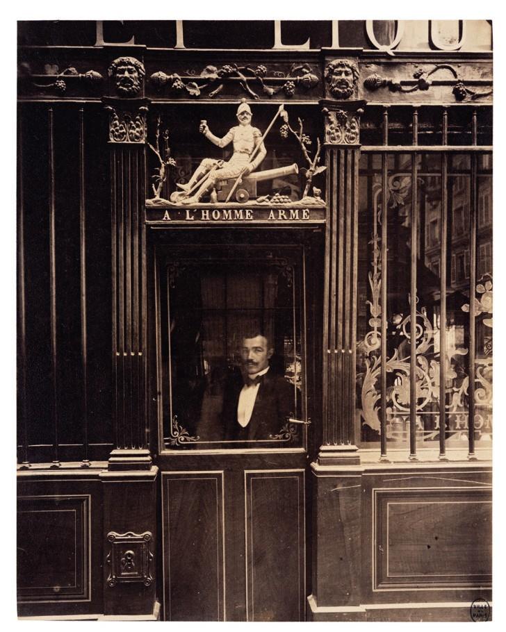 Cabaret de l'Homme armé, 25, rue des Blancs-Manteaux, IVe, septembre 1900 © Paris Musées / musée Carnavalet – Histoire de Paris.