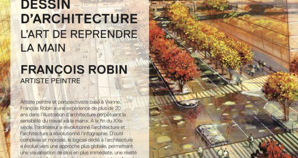 Dessin d'architecture - L'art de reprendre la main
