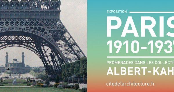 Paris 1910-1937. Promenades dans les collections Albert-Kahn
