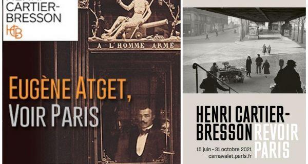 Voir Paris avec Atget et Revoir Paris avec Cartier-Bresson