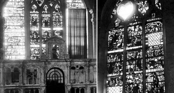 Du plomb de casse à la création contemporaine : le traitement de la lacune dans la restauration du vitrail ancien