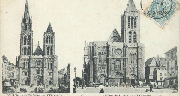 Remontage du clocher nord et de la flèche de la basilique Saint-Denis (1/2)