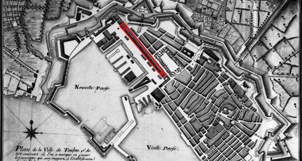 La requalification de l'entrée ouest de Toulon : reconversion de la corderie de Vauban