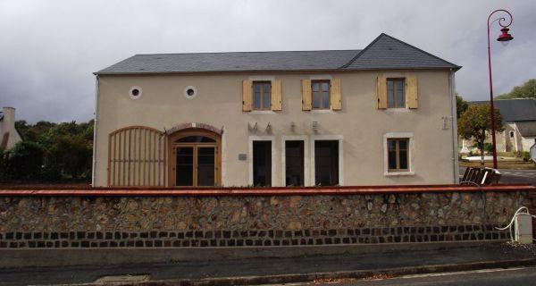 La nouvelle mairie et agence postale de Montigny (18250)