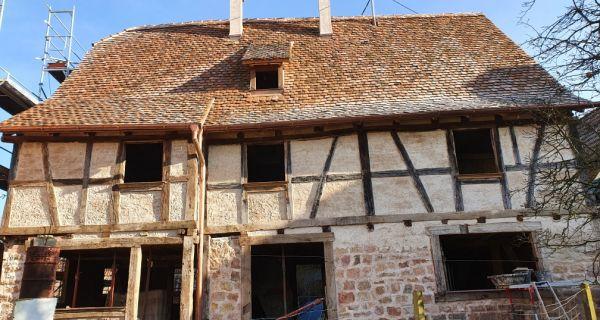 Les Stammtisch de l'ASMA, une démarche citoyenne d'entraide à la restauration des maisons alsaciennes