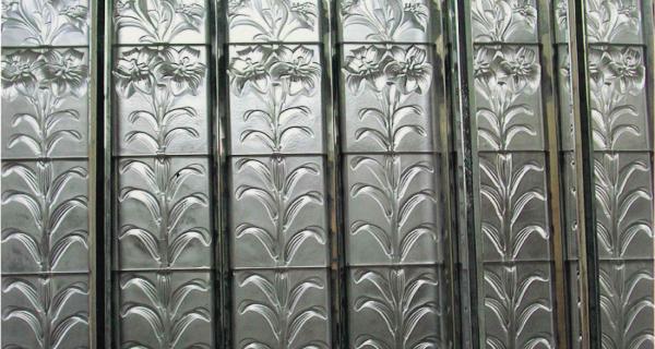 Les verrières de la Chapelle royale, à Vincennes