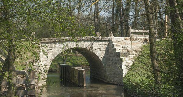 Le pont de Coq - Saumont-la-Poterie – Ménerval