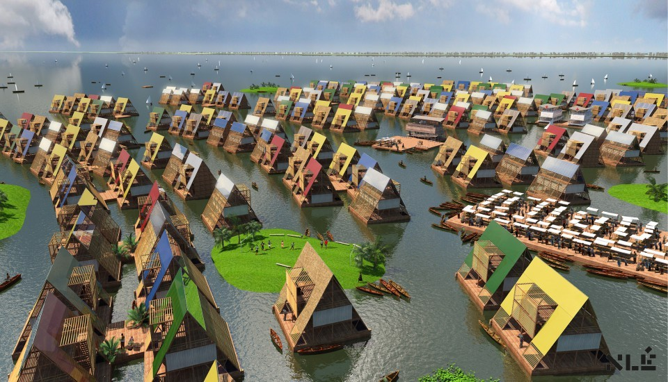 Lagos Water Communities. © Agence NLE