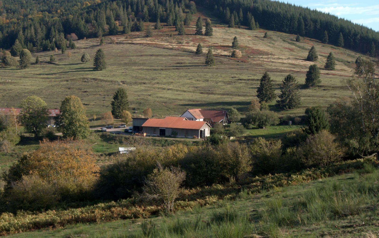 La Vallée de la Bruche et sa ferme-auberge. © Communauté de communes de la Vallée de la Bruche.