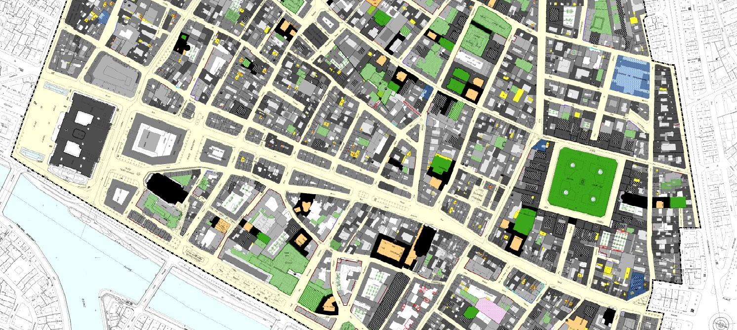 Zoom du plan de sauvegarde et de mise en valeur révisé du Marais.  ©Cabinet Blanc-Duché