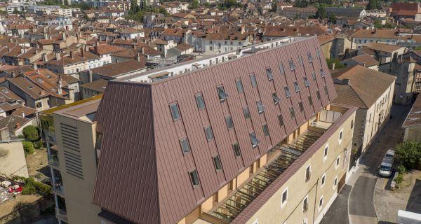 La conciergerie de Bourg-en-Bresse - Réhabilitation d'un bâtiment historique devenu une prison